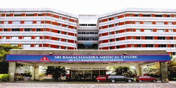 Sri Ramachandra Medical Center Chennai India
