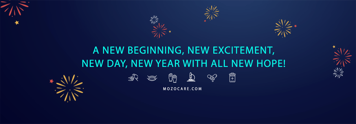 A new beginning, New Excitement, New Day. New Year with all New Hope!